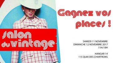 Le Salon du Vintage arrive les 11 et 12 novembre 2017 au Hangar 14 à Bordeaux