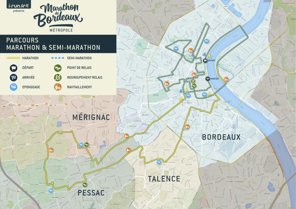 les bons plans bordeaux parcours marathon