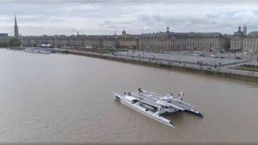 L'Energy Observer est arrivé à Bordeaux ce matin