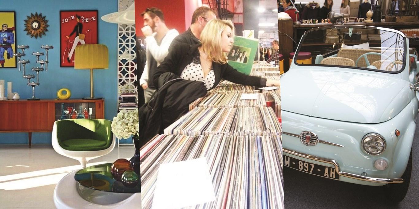 Le Salon du Vintage débarque les 11 et 12 novembre 2017 au Hangar 14 à Bordeaux