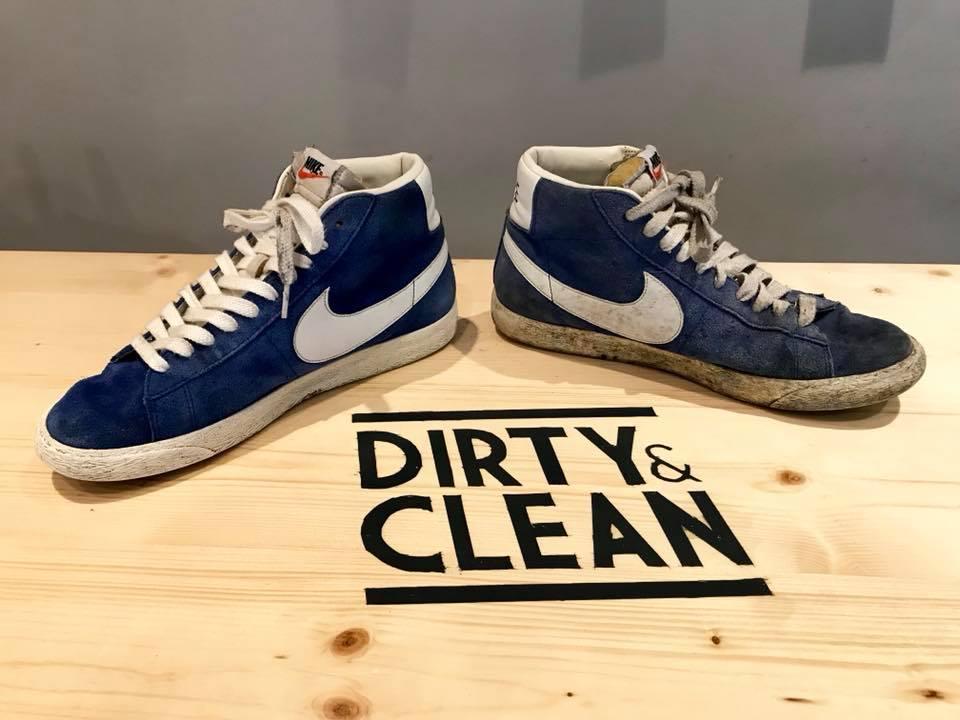 Les Bons Plans Bordeaux vous font gagner la personnalisation de vos chaussures chez Dirty and Clean - avant - apres