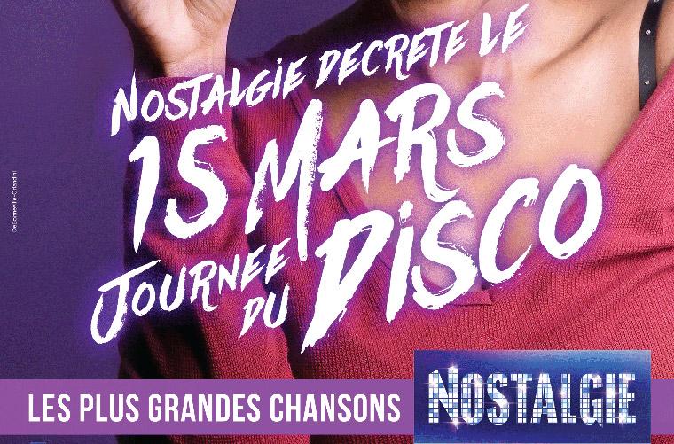 Les Bons Plans à Bordeaux : NOSTALGIE Bordeaux décrète le 15 mars journée du disco ! (2)
