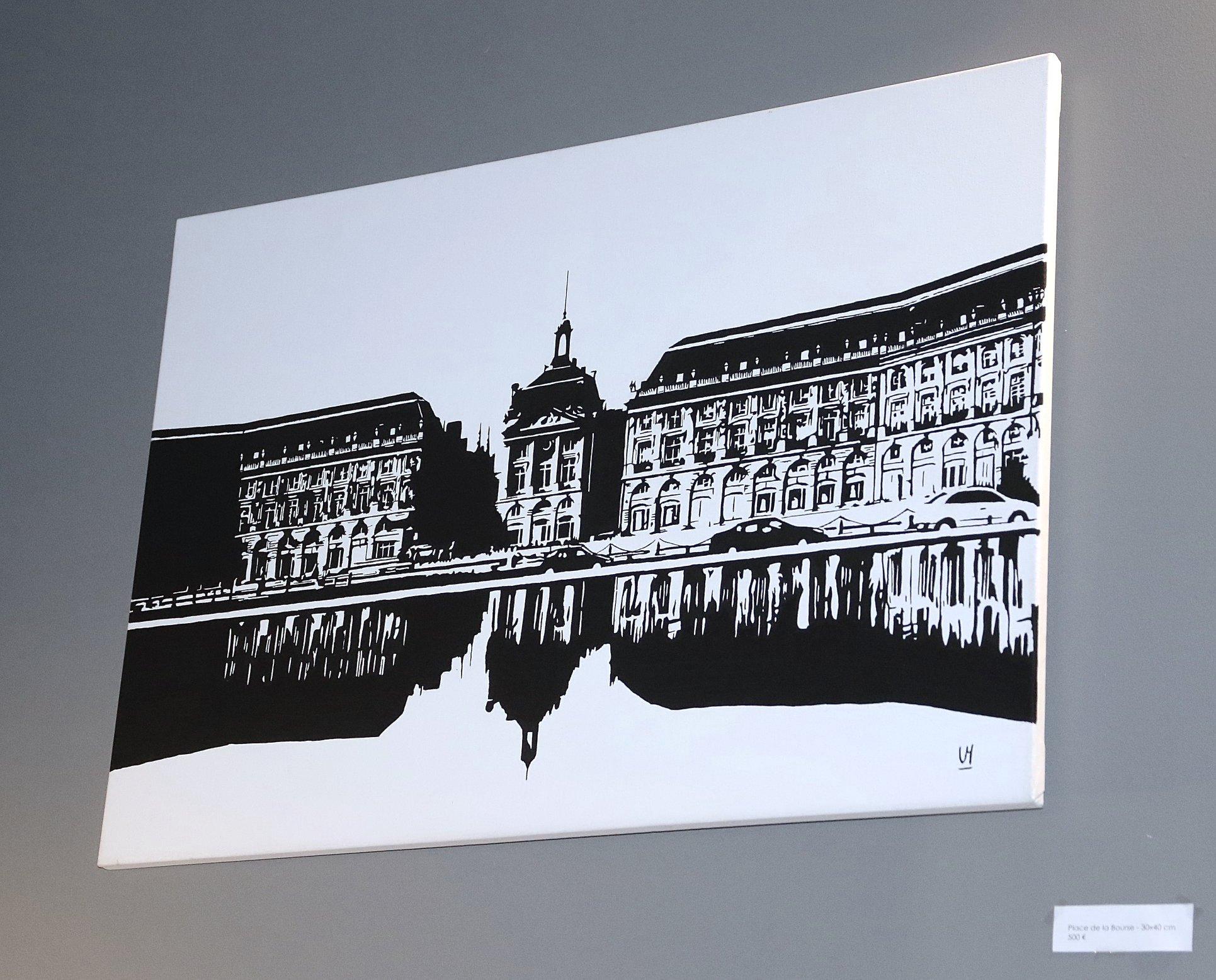Les bons plans Bordeaux : Valentin Mauguet, artiste autodidacte bordelais en Afterwork Exposition au Veneto 19 avril