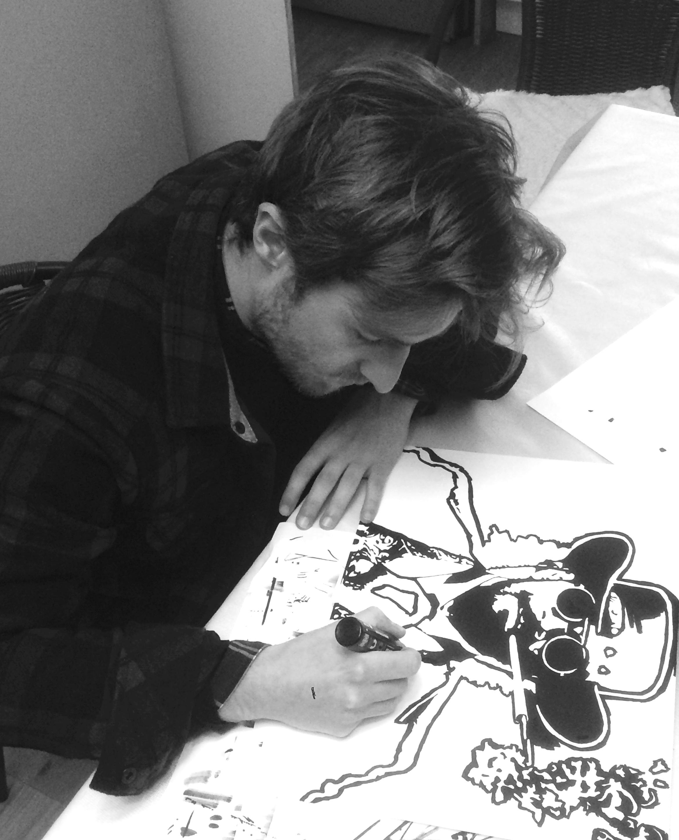 Les bons plans Bordeaux : Valentin Mauguet, artiste autodidacte bordelais en Afterwork Exposition au Veneto jeudi 19 avril 2018