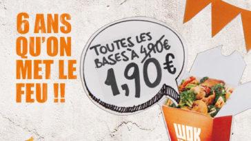 Les Bons Plans à Bordeaux : FIESTA WOKO LOCO : Wok to Walk fête ses 6 ans à Bordeaux !