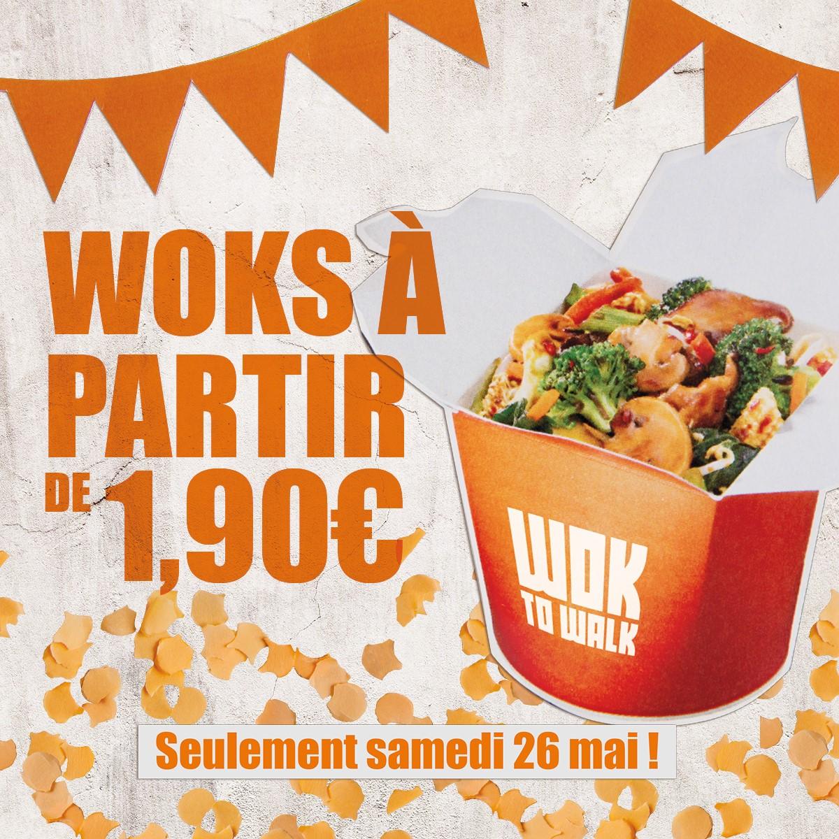 Les Bons Plans à Bordeaux : FIESTA WOKO LOCO : Wok to Walk fête ses 6 ans à Bordeaux ! Offre wok