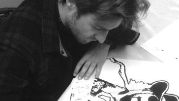 """Retrouvez l'Interview rapido """"Mon Bordeaux"""" en mode """"Black & White"""" avec Valentin Mauguet, artiste bordelais !"""