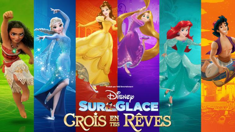 Les bons Plans à Bordeaux et Alternative Grand Ouest vous offrent vos places pour le spectacle Disney sur Glace Crois en Tes Rêves à Bordeaux