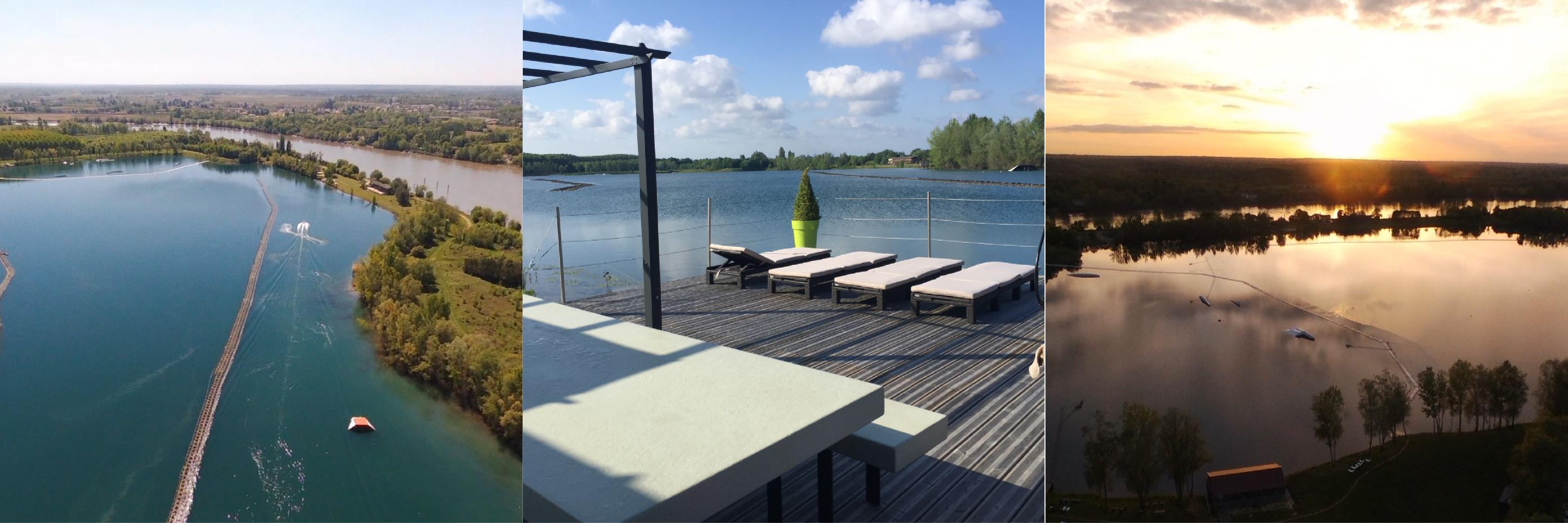 Les bons Plans à Bordeaux vous présentent le Le Ski Nautique Club de Bordeaux de Baurech, dans un cadre magnifique à 15 minutes de Bordeaux - domaine