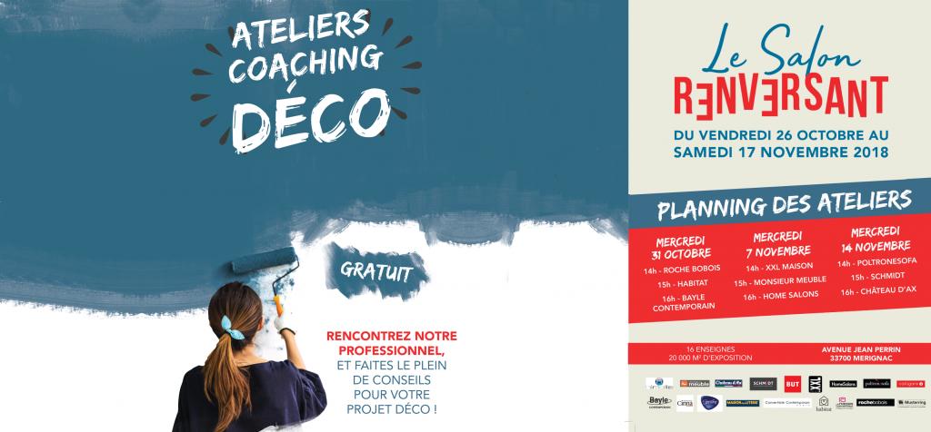 Les Bons Plans à Bordeaux : 5 000€ à gagner pour relookez son intérieur en compagnie d'une invitée spéciale sur toute une journée : Emmanuelle Rivassoux - Ateliers coaching déco