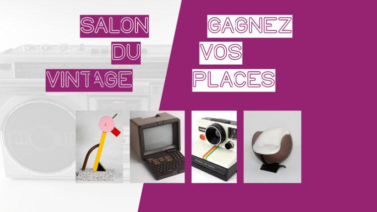 Les Bons Plans Bordeaux vous offrent vos entrées pour le salon du vintage 2019 à Bordeaux