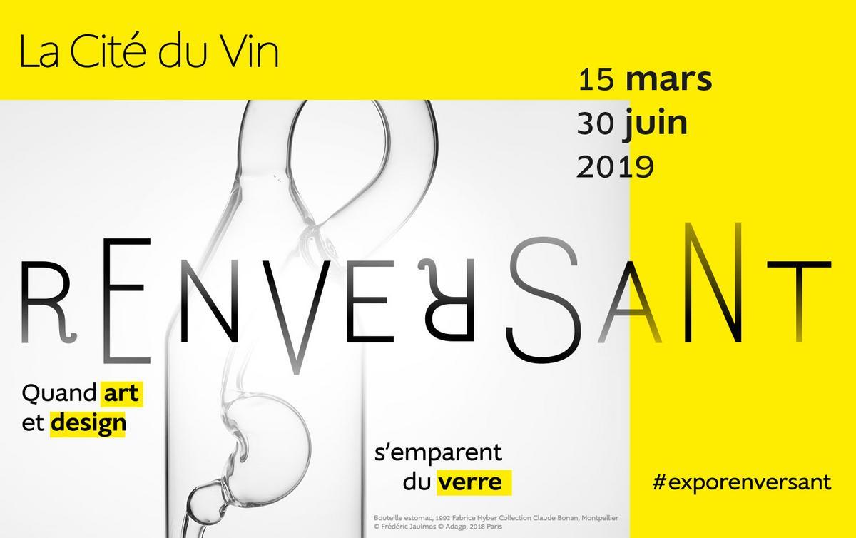 """Les bons plans à Bordeaux vous présentent : Exposition Cité du Vin """"Renversant"""""""
