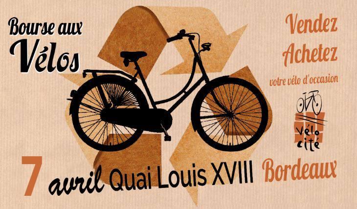 Les Bons Plans Bordeaux : Bourse aux vélos le dimanche 7 avril à Bordeaux.