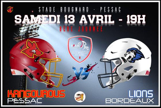 Les bons plans Bordeaux présentent : Va y'avoir du sport, votre rendez-vous sport bordelais ! FOOT US