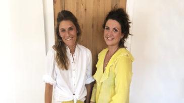 """Cette semaine, retrouvez l'Interview rapido en mode """"Shopping"""" avec Pauline & Charlotte, co-fondatrices d'APONE, la nouvelle marque de prêt-à-porter."""