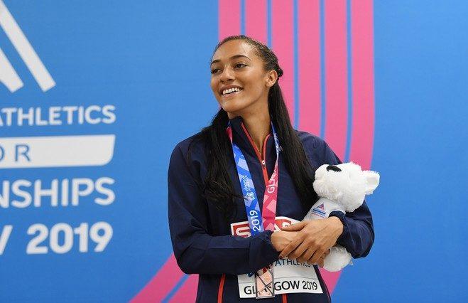 """Cette semaine, retrouvez l'Interview rapido en mode """"Athlétisme"""" avec Solène Ndama, championne d'Europe du 100m haies junior et étudiante à AMOS Bordeaux !"""