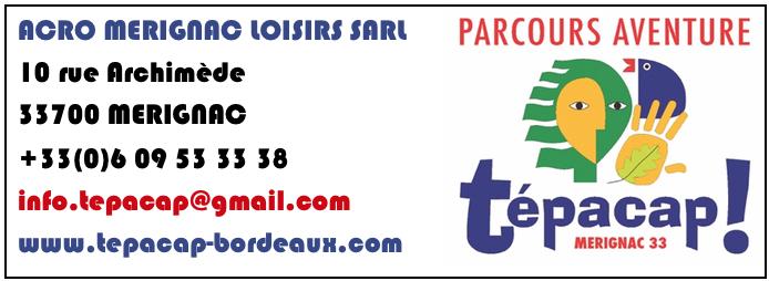 Les Bons Plans à Bordeaux présentent : Tépacap, le parc d'aventure à Mérignac. Tentez de gagner vos entrées !