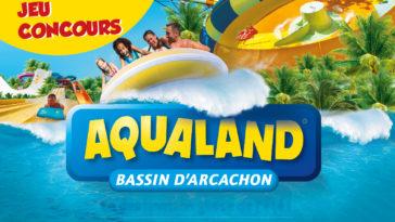 Les Bons Plans à Bordeaux : jeu concours, remportez vos entrées pour le parc Aqualand !