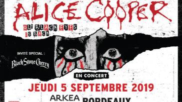 Les Bons Plans à Bordeaux vous offres vos places pour le SHOW Alice Cooper à Bordeaux ! home