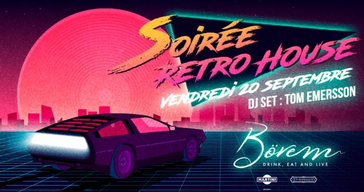 Les bons plans à Bordeaux présentent : Une soirée rétro house, dès 18h30 au Bovem ! 2