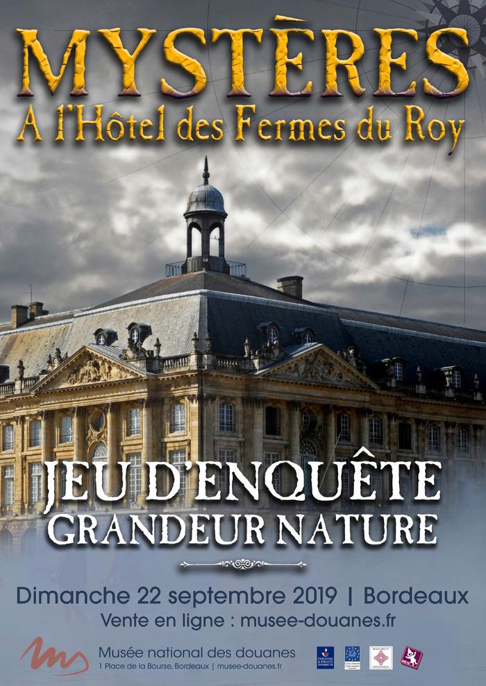 Les bons plans à Bordeaux présentent : Plongez dans l'univers du XVIII ème siècle, et prenez part à un escape game dans un lieu historique de Bordeaux 1