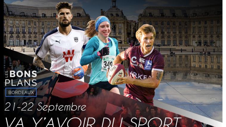 Les bons plans à Bordeaux 6présentent : Va y'avoir du sport, vos rendez-vous sport bordelais du week-end ! 6