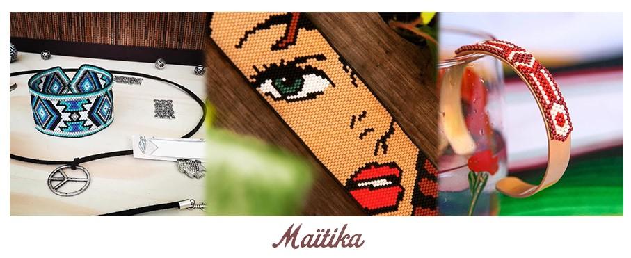 """Les bons plans à Bordeaux présentent : Maïtika, créatrice de bijoux en perles miyuki, nous présente son métier et """"son Bordeaux""""."""