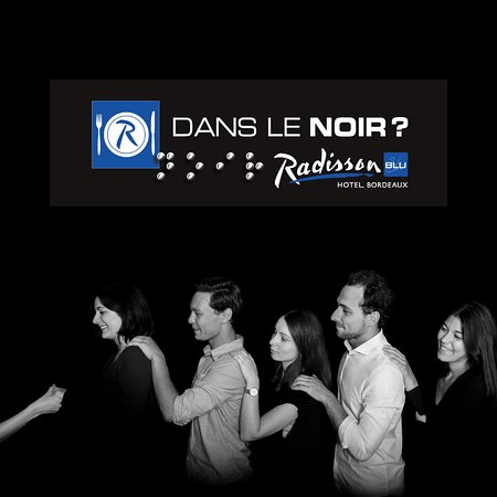 """Les bons plans à Bordeaux présentent : L'interview rapido de Sylvie Moussu, guide au restaurant """"Dans le noir ?"""". 3"""