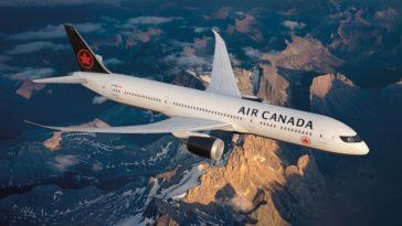 Les bons plans à Bordeaux présentent : Air Canada renouvelle sa ligne saisonnière entre Bordeaux et Montréal pour 2020 !