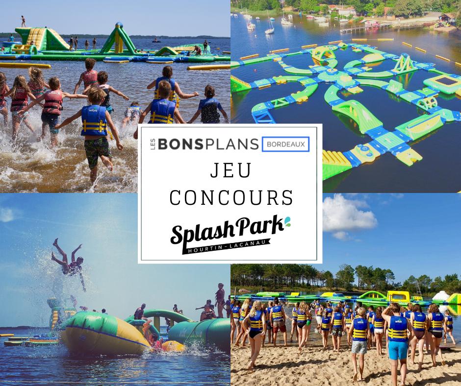 Les Bons Plans à Bordeaux vous offre vos entrées pour le Splash Park de votre choix !