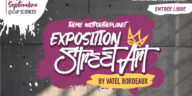 Dans un contexte international inédit, Vatel Bordeaux lance à partir du 8 Septembre, sa 2ème exposition internationale de Street Art !