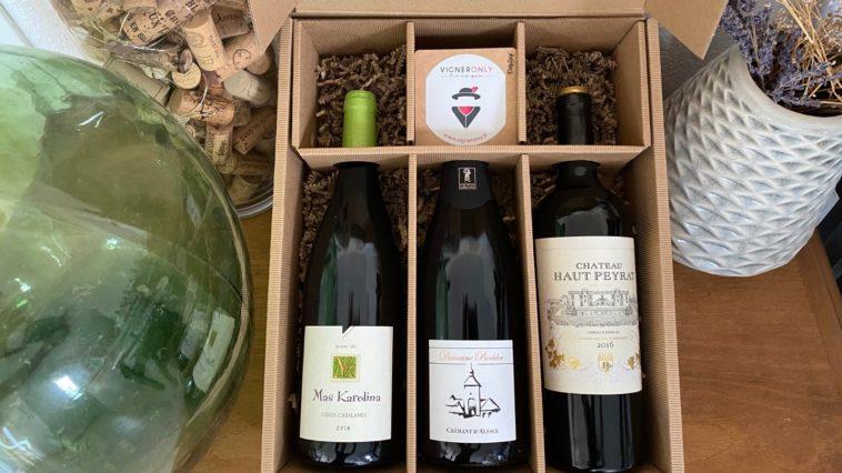 Les Bons Plans à Bordeaux vous offrent votre coffret de 3 bouteilles par Vigneronly !